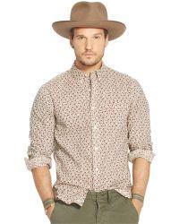958a552008 Denim   Supply Ralph Lauren - Floral Cotton Sport Shirt - Lyst