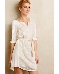 Tiny - Paperwhites Embroidered Shirtdress - Lyst
