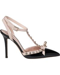 Kate Spade | Lydia 2-tone Patent Leather Pointed Pump | Lyst