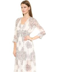Club Monaco Tavin Dress  Ironworks Lace - Lyst