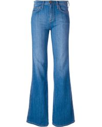 Current/Elliott 'The Girl Crush' Flared Jeans - Lyst