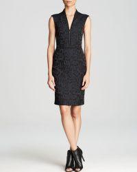 Rebecca Taylor Dress  Leopard Brocade Shift - Lyst