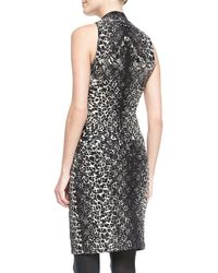 Jean Paul Gaultier Leopardprint Bustier Dress - Lyst
