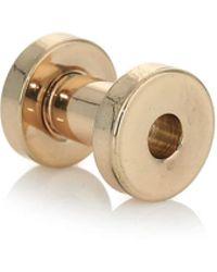 Topman 4mm Stainless Steel Ear Tunnel - Lyst