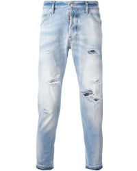 DSquared² 'Kenny Twist' Tapered Jeans - Lyst