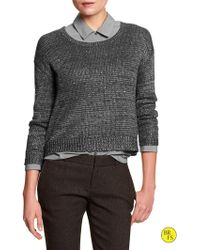 Banana Republic Factory Sequin Sweater - Lyst