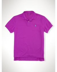 Polo Ralph Lauren Performance Mesh Polo Shirt - Lyst