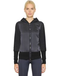 Callens - Hooded Silk & Cotton Jersey Sweatshirt - Lyst