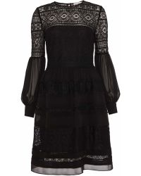 Alice By Temperley Fleur Dress black - Lyst