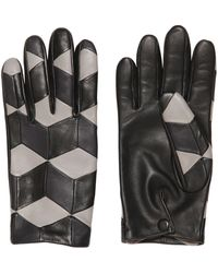 Christopher Kane | Cube Patchwork Nappa Leather Gloves | Lyst
