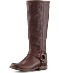 Frye Phillip Harness Boot - Lyst