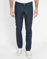Wrangler | Raw Larston Slim-fit Jeans | Lyst