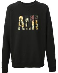 Ami Tropical Logo Sweatshirt - Lyst