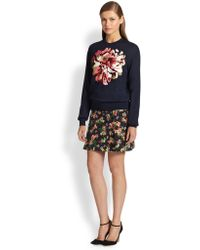 Erdem Calista Mini Skirt - Lyst