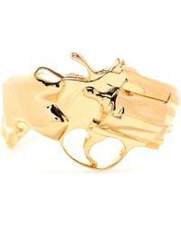 Saint Laurent   Cuff Bracelet   Lyst