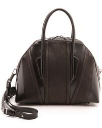 Helmut Lang Chasma Medium Satchel Black - Lyst