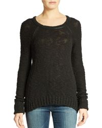 Guess Cotton Blend Pullover - Lyst
