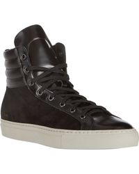 Common Projects Suede Leather Sneakers - Lyst