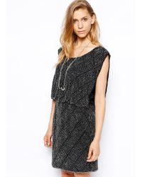 Gestuz Short Dress black - Lyst