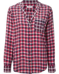 Equipment Plaid Shirt - Lyst