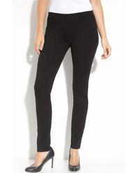 Eileen Fisher Skinny Ponte Knit Pants (Regular & Petite) - Lyst