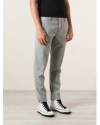 Dondup Skinny Trousers - Lyst