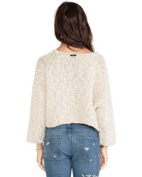 Tigerlily - Maryse Crop Knit - Lyst