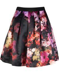 Ted Baker Abaigh Cascading Floral Full Skirt - Lyst