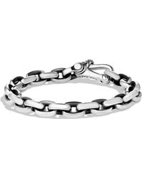 David Yurman Chain Oval Link Bracelet - Lyst