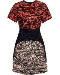 Proenza Schouler Patterned Jacquard Dress - Lyst