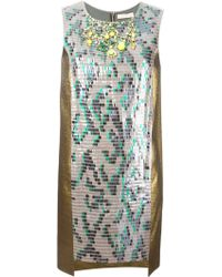 Matthew Williamson Paillette Embellished Dress - Lyst