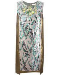 Matthew Williamson Paillette Embellished Dress - Lyst