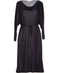 Vanessa Bruno Knee Length Dress - Lyst