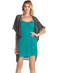BCBGeneration - Printed Sheer Cover Up - Lyst