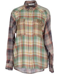 Etoile Isabel Marant Shirt green - Lyst