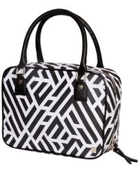 Hudson+Bleecker - Labyrinth Onyx Voyager Toiletry Bag - Lyst