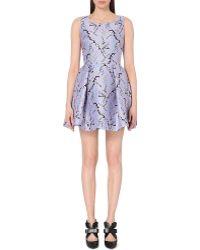 Mary Katrantzou Abstract-Print Jacquard Dress - Lyst