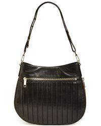 Milly Women'S 'Ludlow' Crossbody Bucket Bag - Black - Lyst