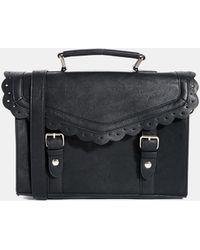 Asos Vintage Style Punchout Satchel Bag - Lyst