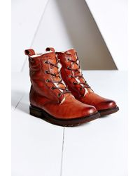 Frye Valerie Lace-up Boot - Lyst