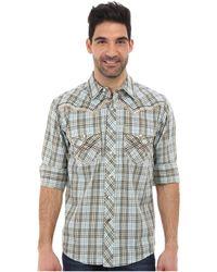 Ariat Shadow Plaid Snap Shirt - Lyst