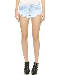 One Teaspoon Saint Bonita Shorts  - Lyst