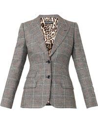 Dolce & Gabbana Prince Of Walescheck Jacket - Lyst