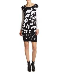 Tibi Leopard Sweater Dress - Lyst