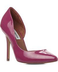 Steve Madden Gayyle Semi Dorsay High Heeled Court Shoes - Lyst