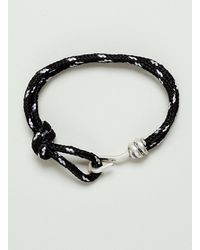 Topman Abseil and Hook Wristband - Lyst