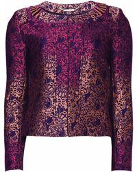 Matthew Williamson Wing Lace Brocade Jacket - Lyst