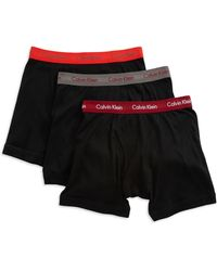 Calvin Klein Three Pack Cotton Classic Boxer Briefs - Lyst