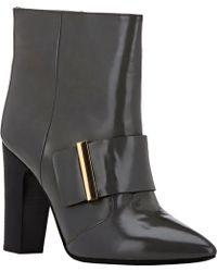 See By Chloé Wide-Strap Ankle Boots - Lyst