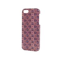 Topshop Tile Print Iphone 5 Shell - Lyst